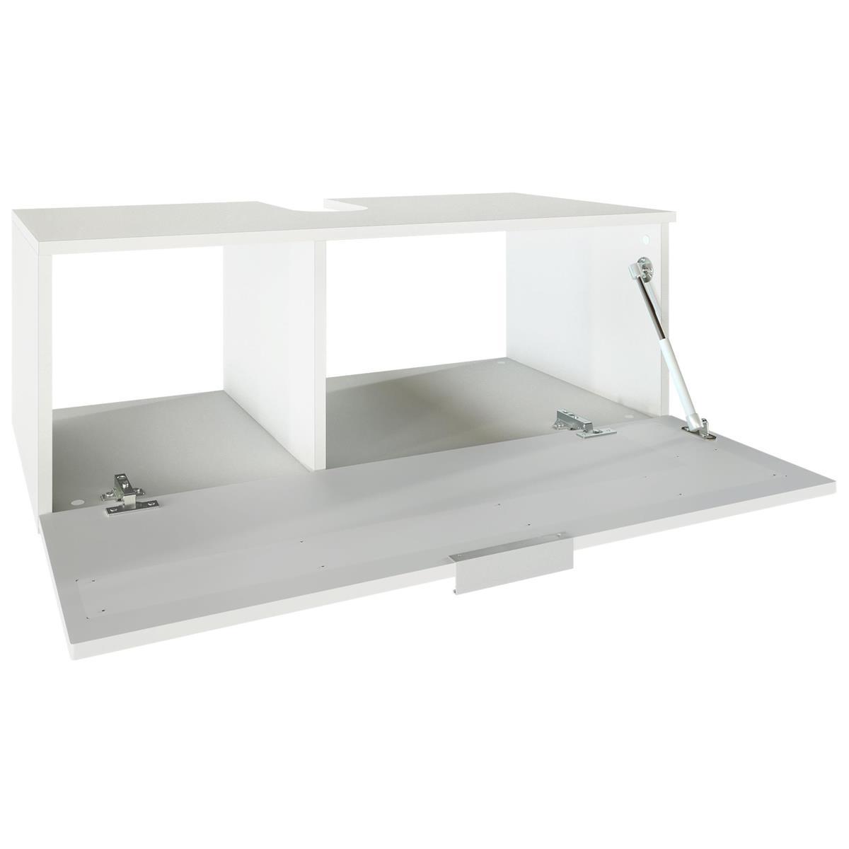 Salle de bain armoire lavabo meuble sous vasque miroir led for Meuble lavabo miroir
