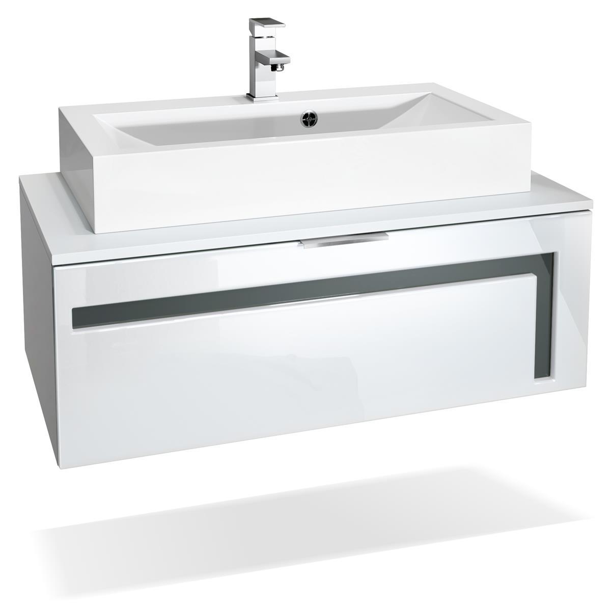 Waschtisch Badezimmer Aloha V2 Breite 96 Cm Vladon Mobel