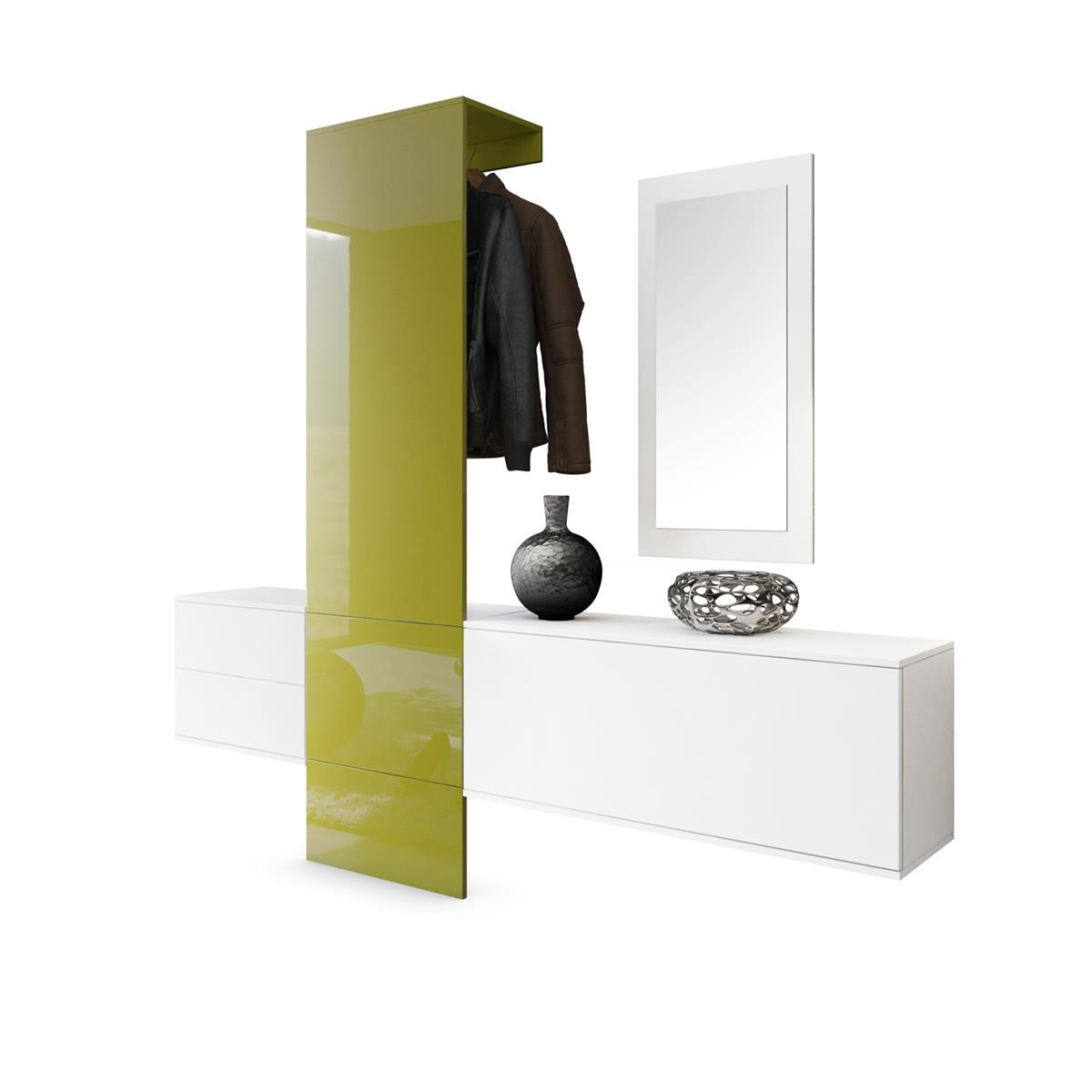 Garderobe carlton set 1 inkl spiegel variable for Garderobe carlton