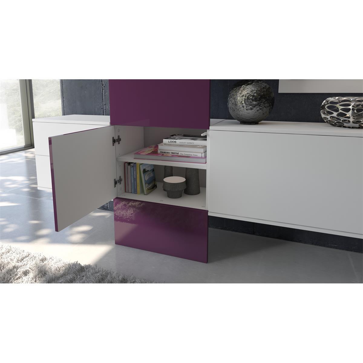 Garderobe carlton set 1 inkl spiegel variable for Schrankmodule schlafzimmer