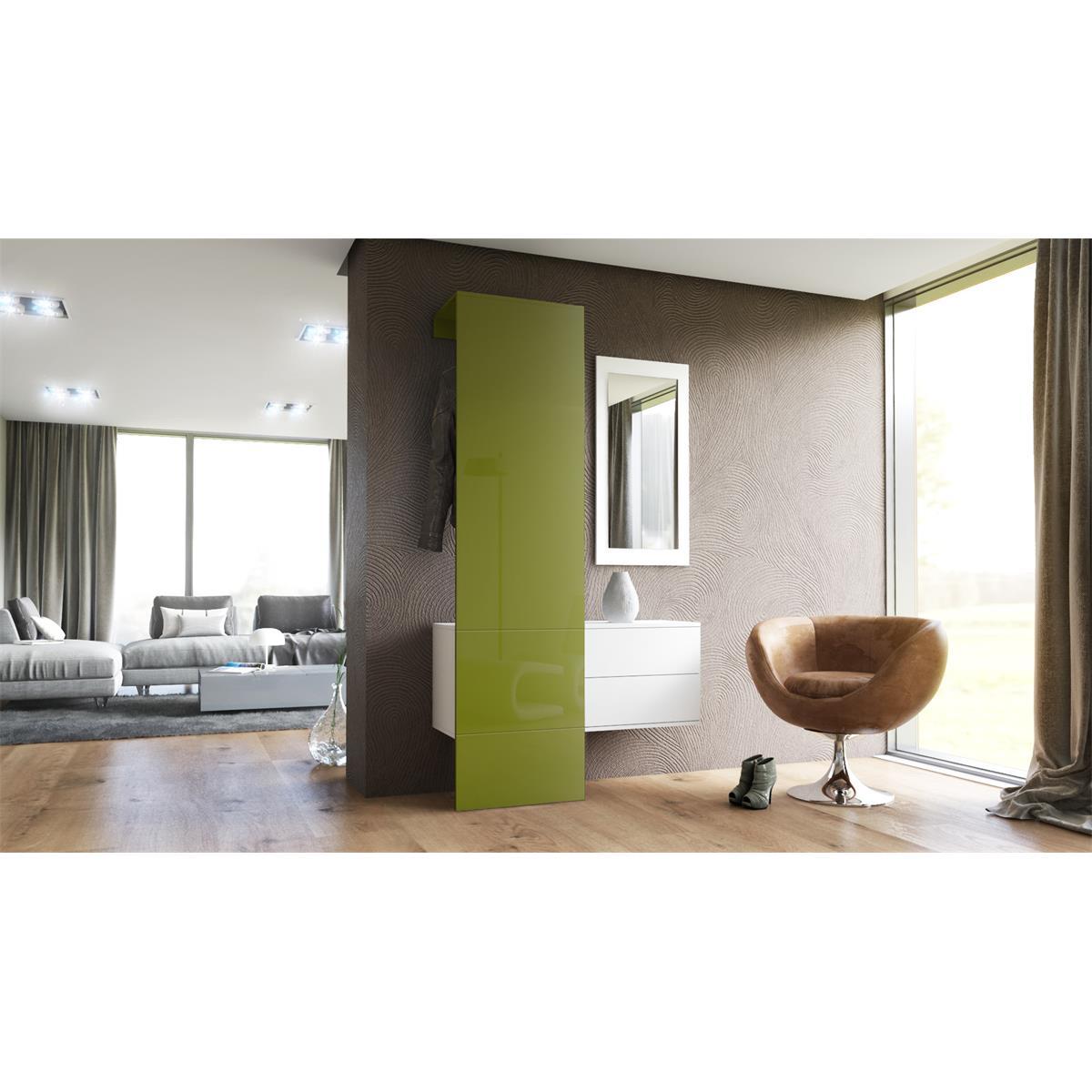 Garderobe carlton set 2 inkl spiegel inkl schubladen for Schrankmodule schlafzimmer