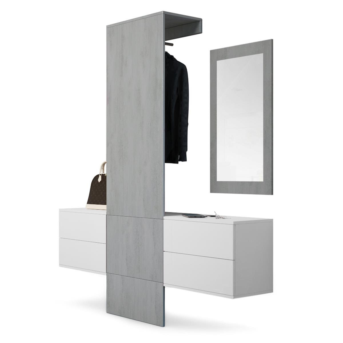 garderobe weiss interesting beautiful home affaire. Black Bedroom Furniture Sets. Home Design Ideas
