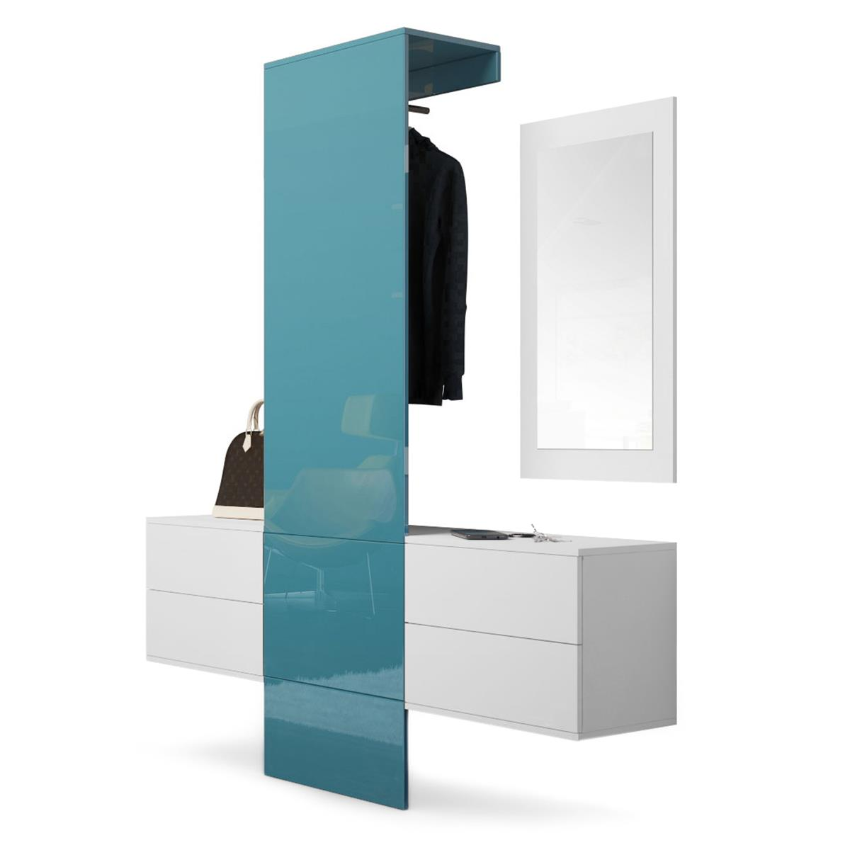 Garderobe carlton set 3 inkl spiegel variable module for Garderobe carlton