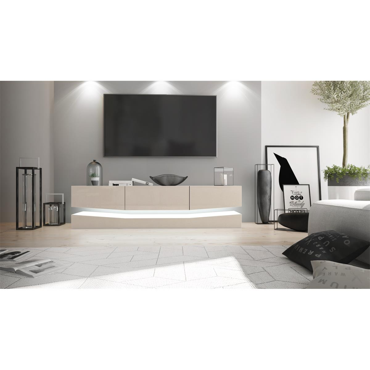lowboard city bestseller shop f r m bel und einrichtungen. Black Bedroom Furniture Sets. Home Design Ideas