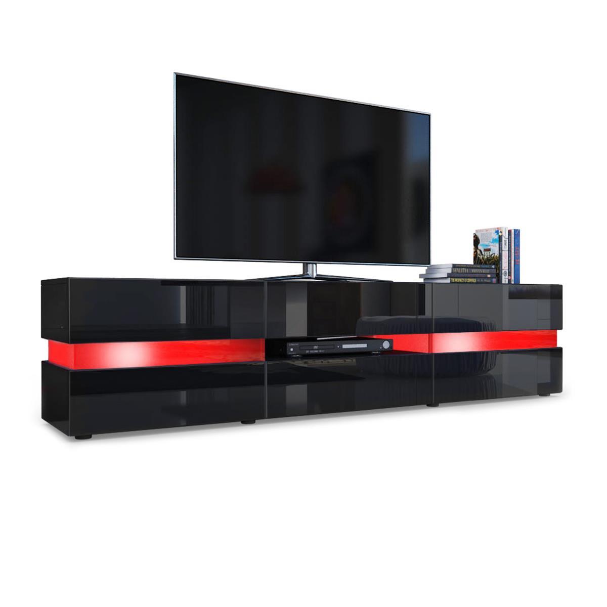 Lowboard led  Flow TV Board: Ambient-Light mit Lounge-Feeling