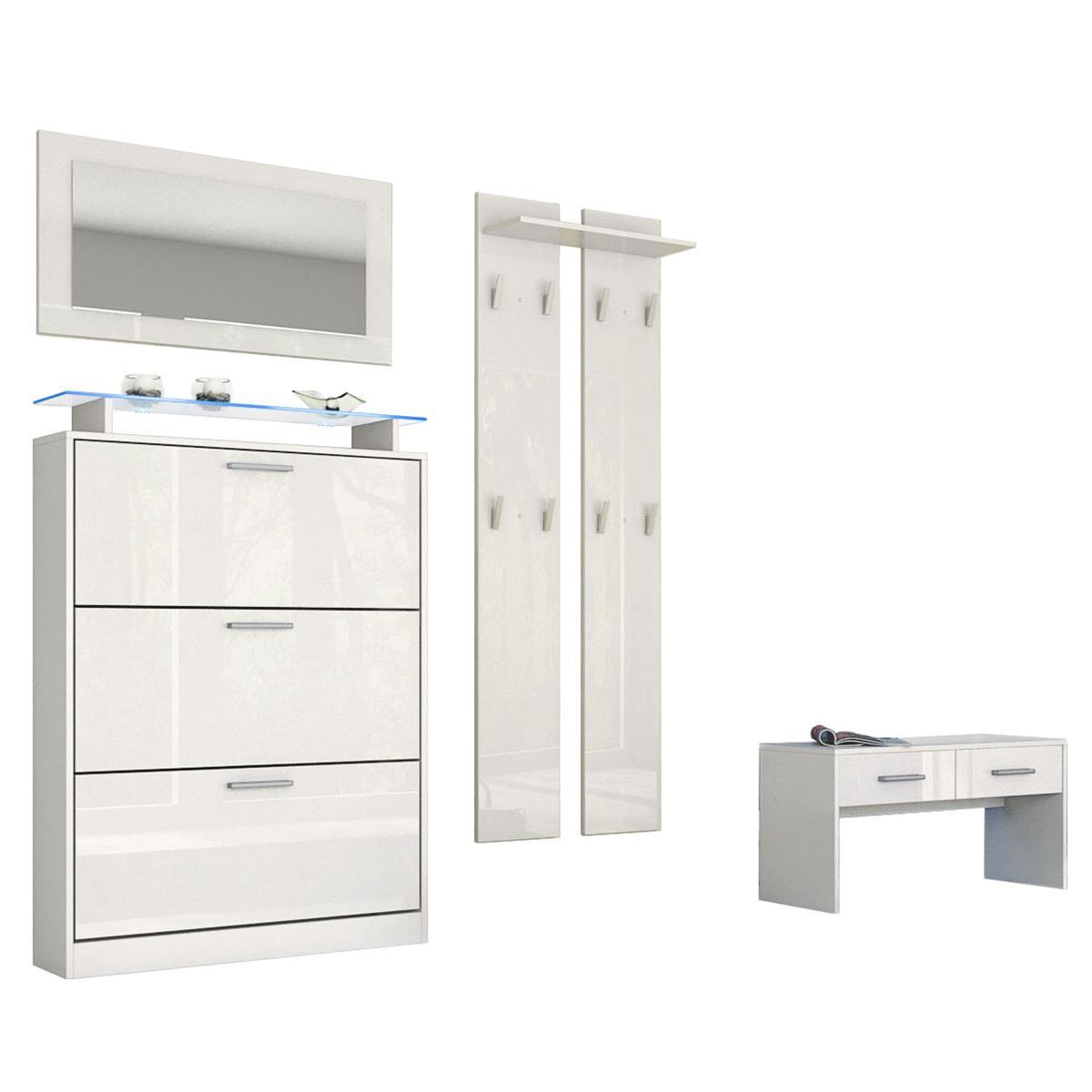 dielenkombination lavia flurm bel mit reichlich stauraum. Black Bedroom Furniture Sets. Home Design Ideas
