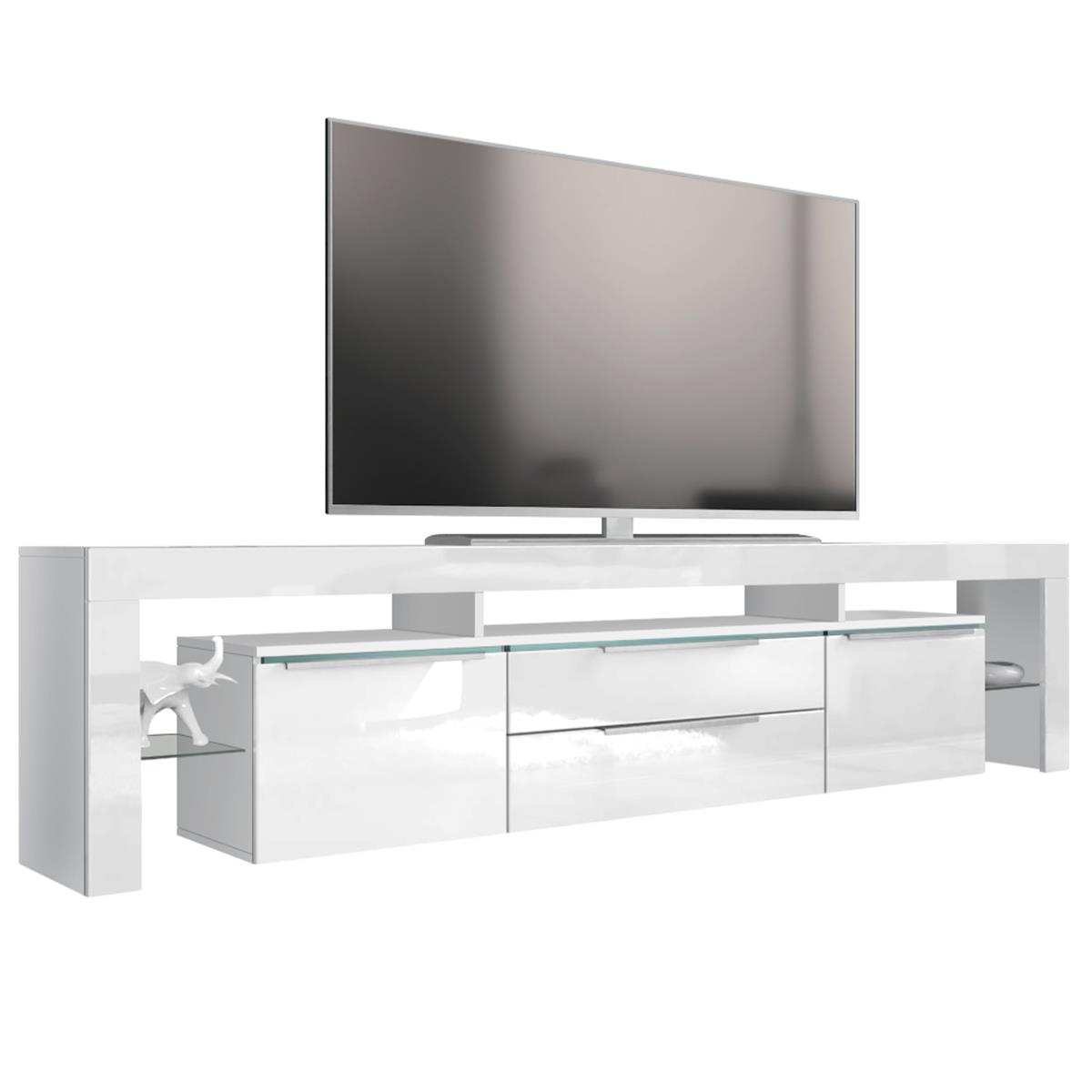 tv board wei hochglanz gallery of stunning tv schrank wei. Black Bedroom Furniture Sets. Home Design Ideas