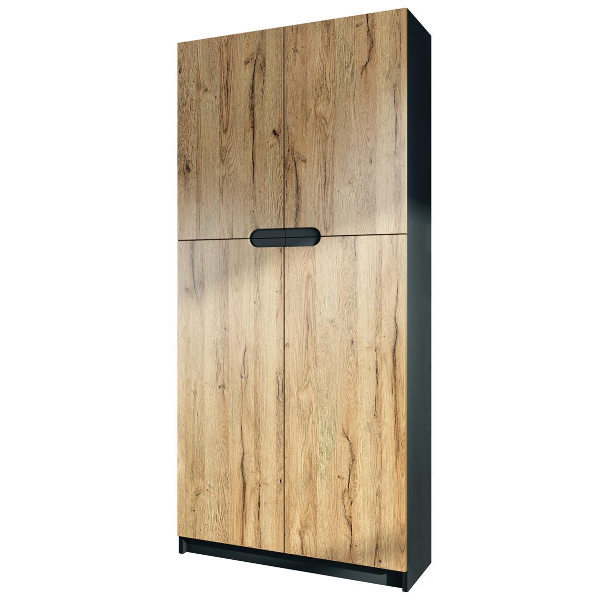 Büroschrank Regal Logan | Höhe 78 cm | Vladon Möbel