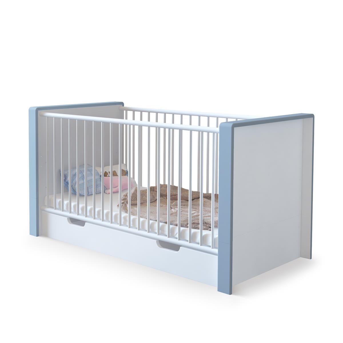 Babyzimmer weiß hochglanz  Babyzimmer Nandini Set 1