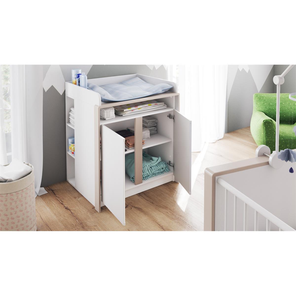 Babyzimmer Kinderzimmer Babymöbel Komplettset Nandini
