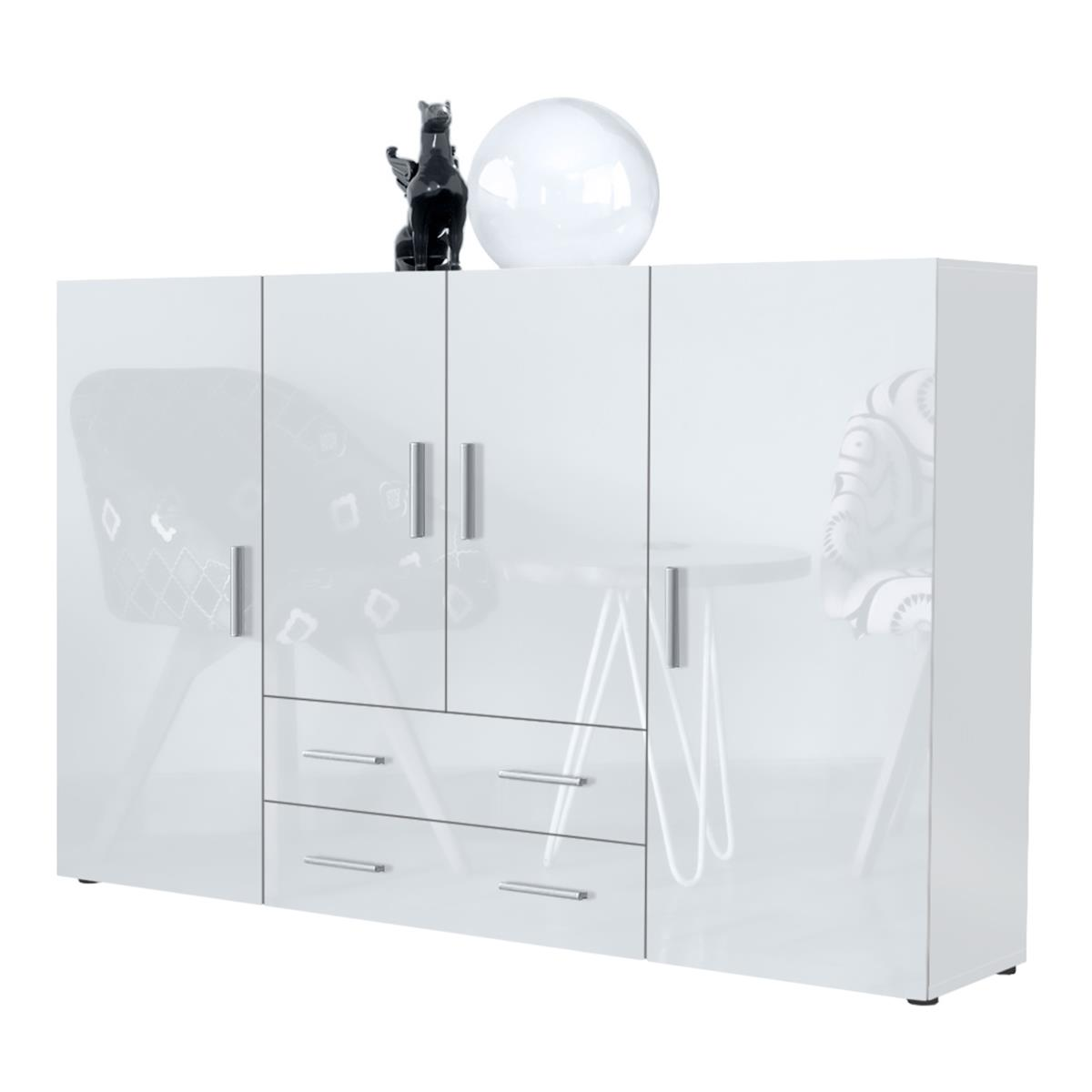 highboard nora diverse farben mit t ren schubk sten. Black Bedroom Furniture Sets. Home Design Ideas