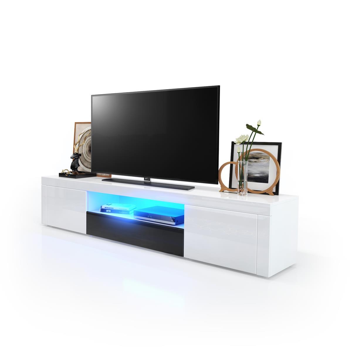 lowboard led. Black Bedroom Furniture Sets. Home Design Ideas