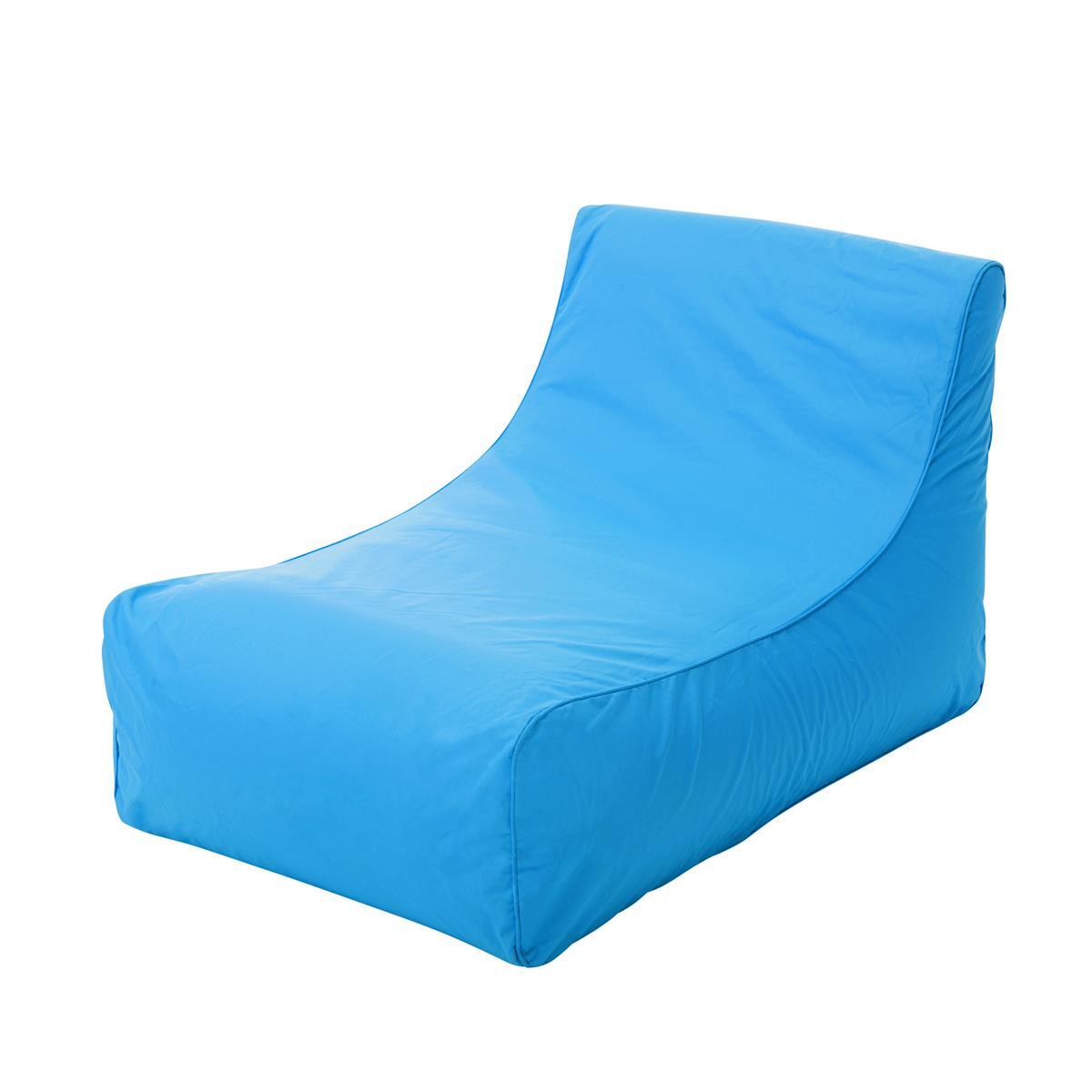sitzsack poolliege blau outdoor garten vladon m bel. Black Bedroom Furniture Sets. Home Design Ideas