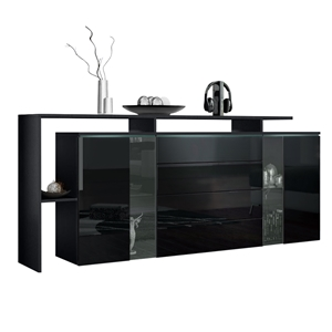 sideboards sideboards highboards vladon m bel 2018. Black Bedroom Furniture Sets. Home Design Ideas