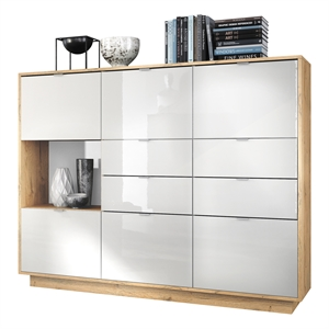 best metro highboard v with sideboard abgerundet
