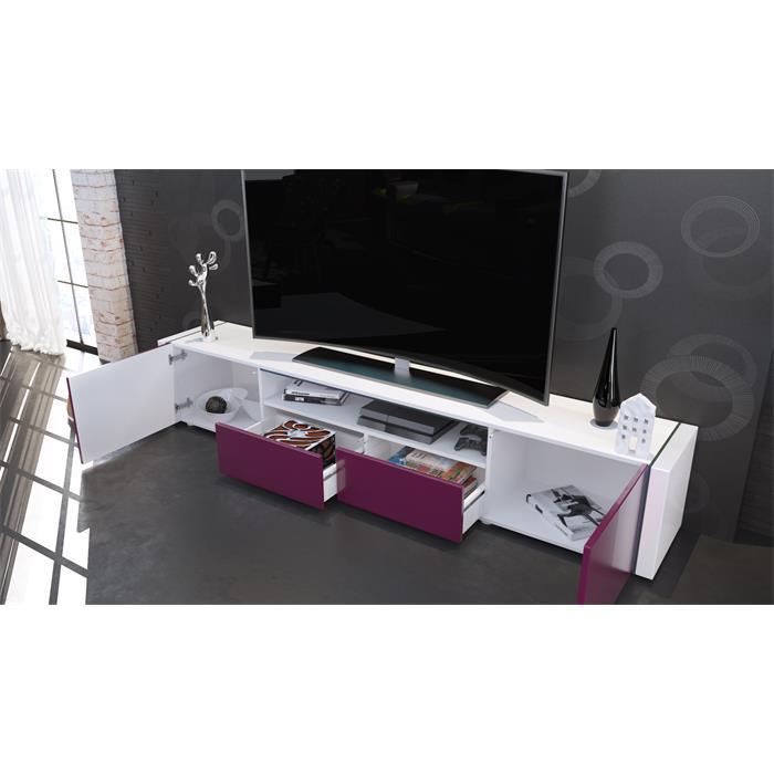 Tv lowboard fernseh board schrank tisch m bel rack marino for Schrank zusammenbauen