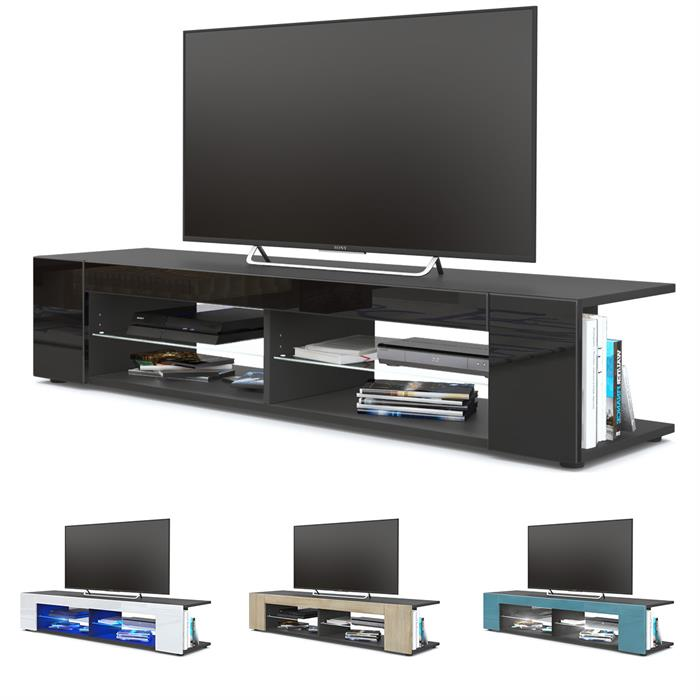 tv lowboard board schrank m bel tisch fernsehtisch movie. Black Bedroom Furniture Sets. Home Design Ideas