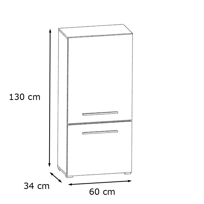 Wohnwand Schwarz Glas Hochglanz Led B H T Ca 280x190x45 C