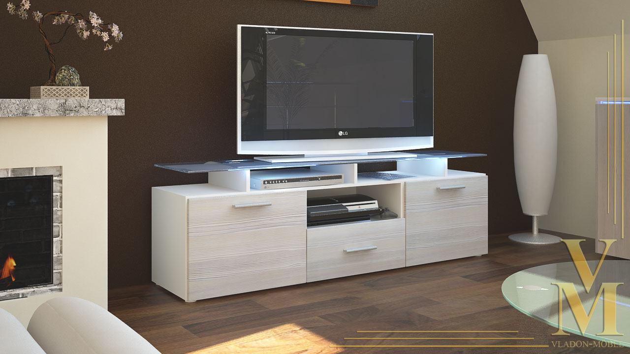 tv sideboard white inspirierendes design f r wohnm bel. Black Bedroom Furniture Sets. Home Design Ideas