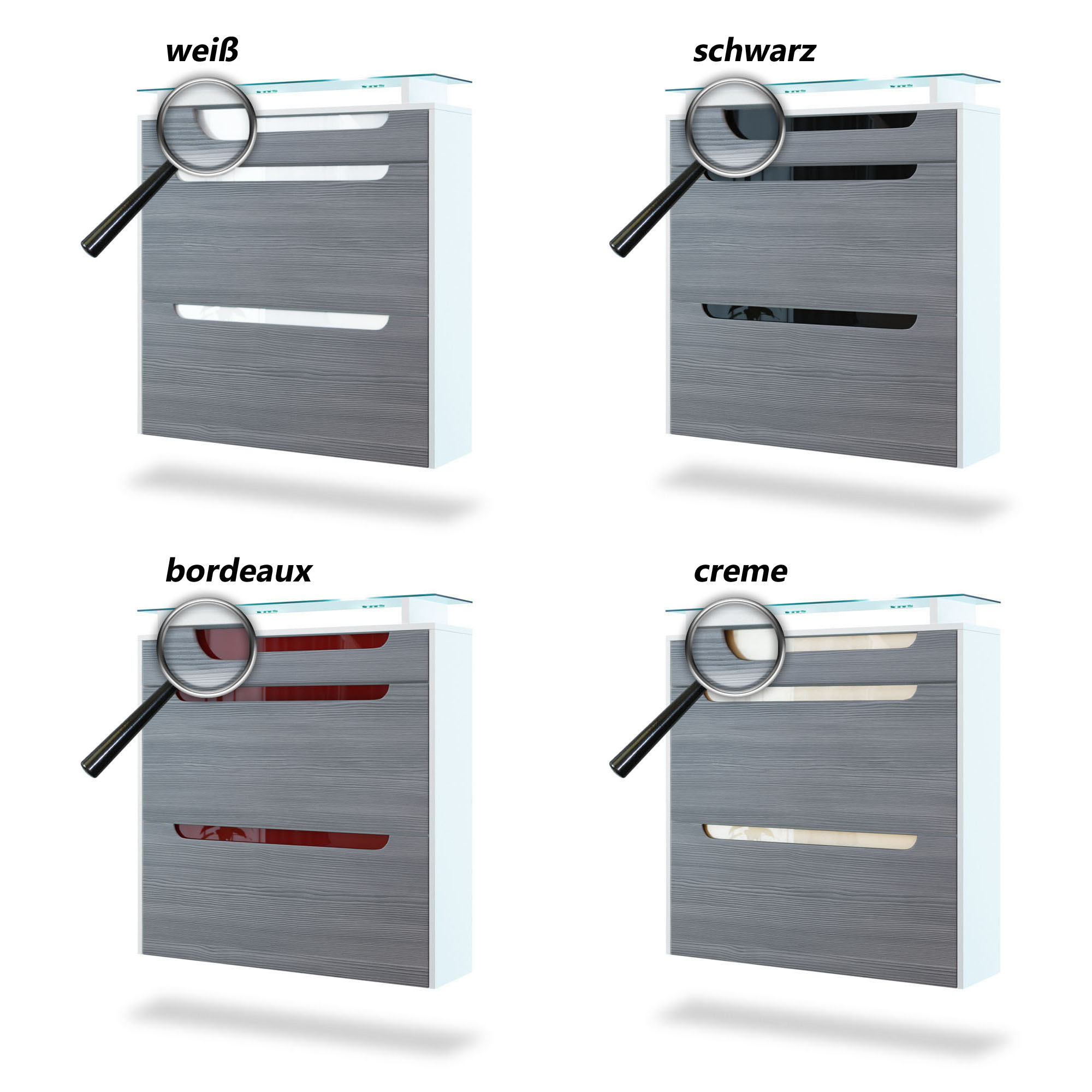 schuhschrank schuhkipper h ngeschuhschrank annie in wei. Black Bedroom Furniture Sets. Home Design Ideas