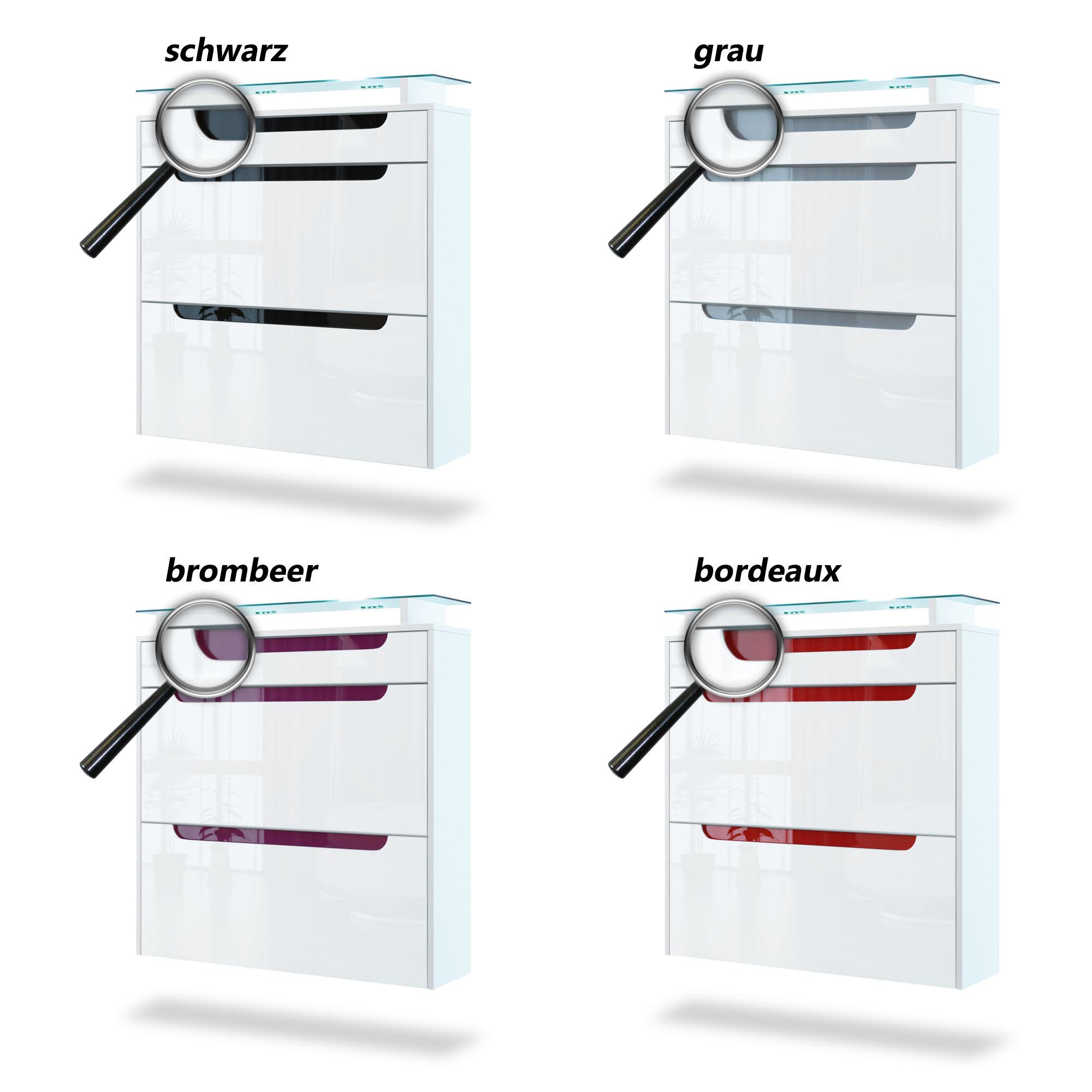 schuhschrank bordeaux hochglanz interessante ideen f r die gestaltung eines. Black Bedroom Furniture Sets. Home Design Ideas