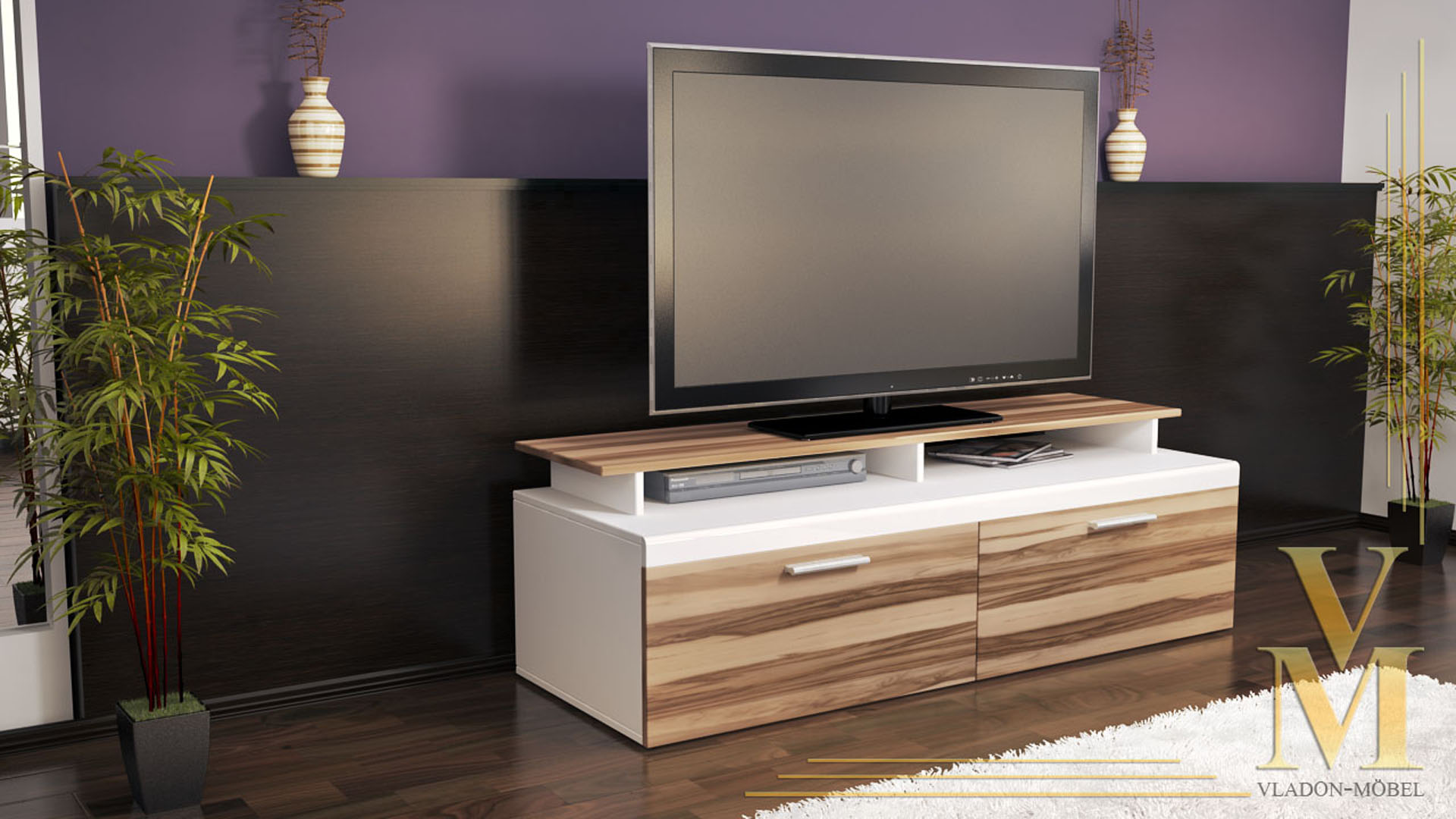 tv sideboard wei hochglanz g nstig inspirierendes design f r wohnm bel. Black Bedroom Furniture Sets. Home Design Ideas