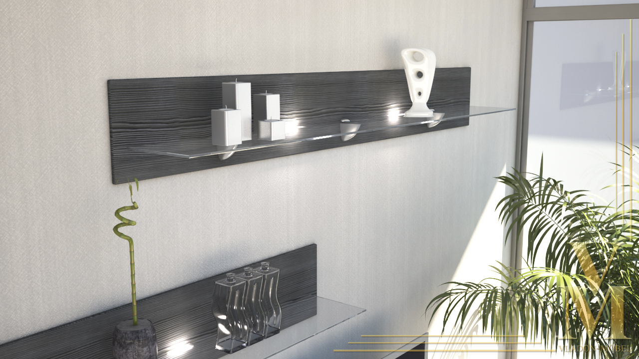 Floating Glass Shelves Wall Mounted