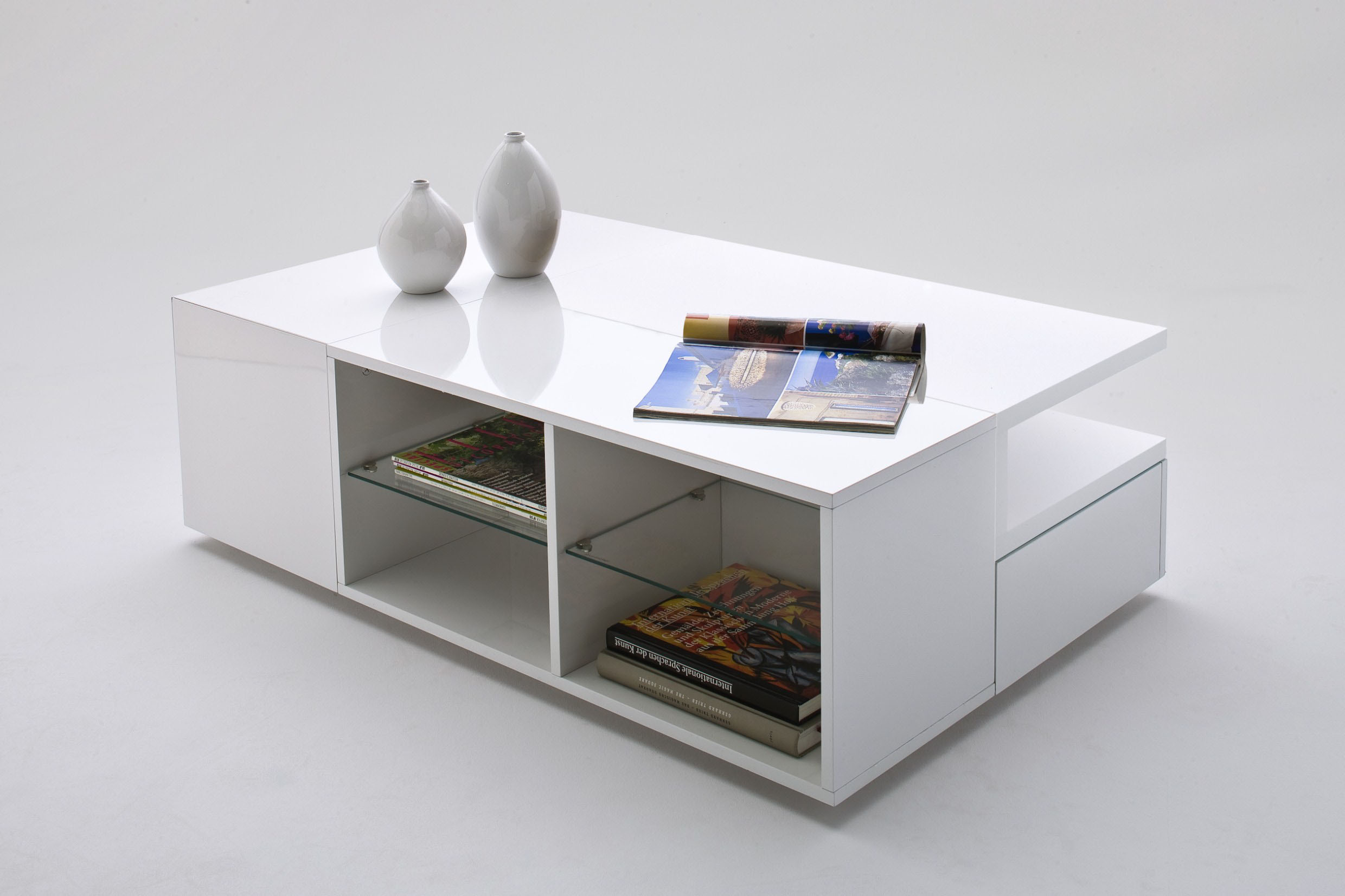 Http Www Ebay Co Uk Itm New Designer Coffee Table Diva With Hidden Storage Space In White High Gloss 110969334520