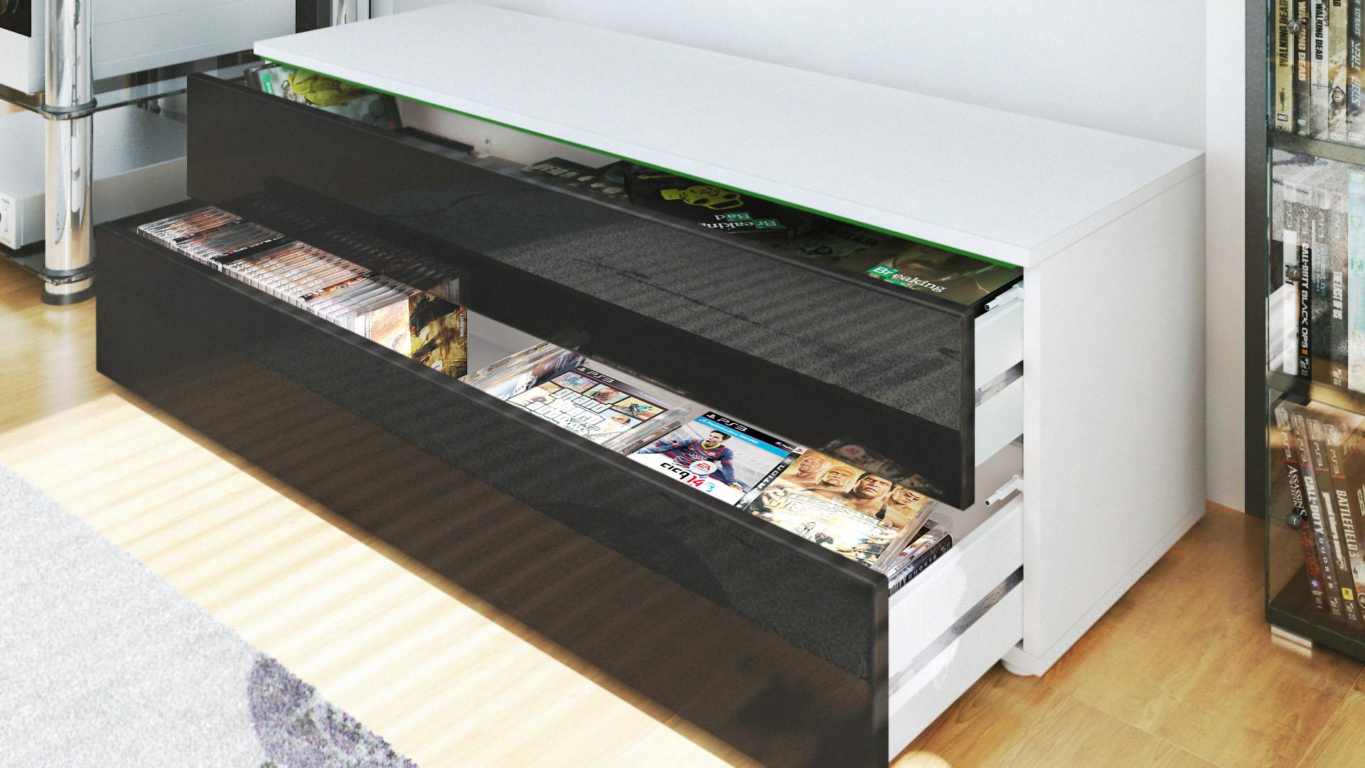 tv lowboard wei landhausstil inspirierendes design f r wohnm bel. Black Bedroom Furniture Sets. Home Design Ideas