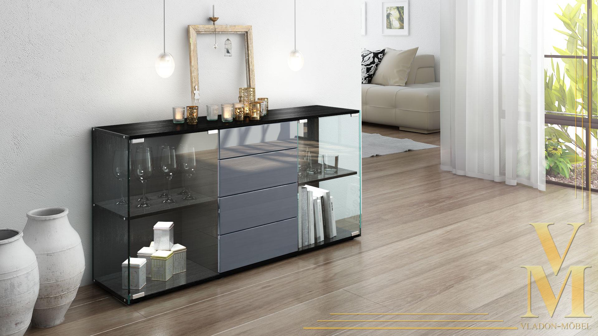 Sideboard grau das beste aus wohndesign und m bel for Sideboard grau