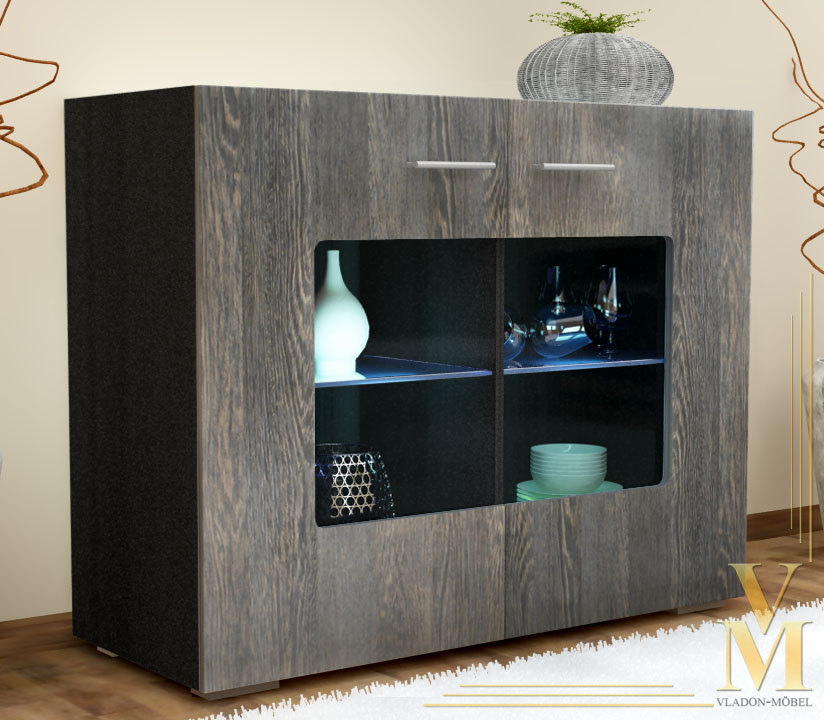 black sideboard tv cabinet inspirierendes design f r wohnm bel. Black Bedroom Furniture Sets. Home Design Ideas