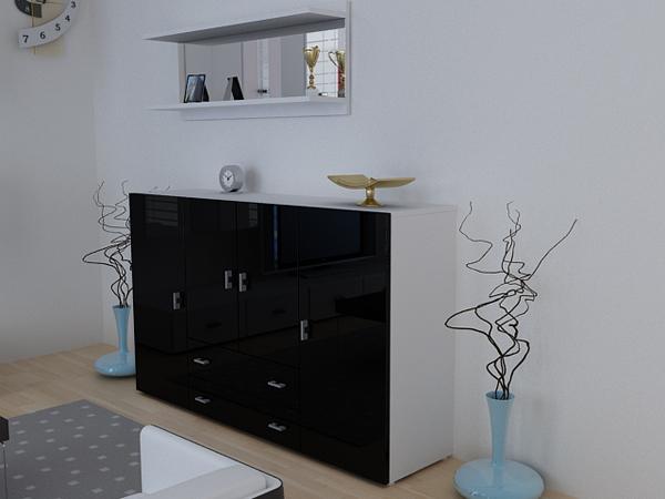 b roschrank wei matt neuesten design. Black Bedroom Furniture Sets. Home Design Ideas