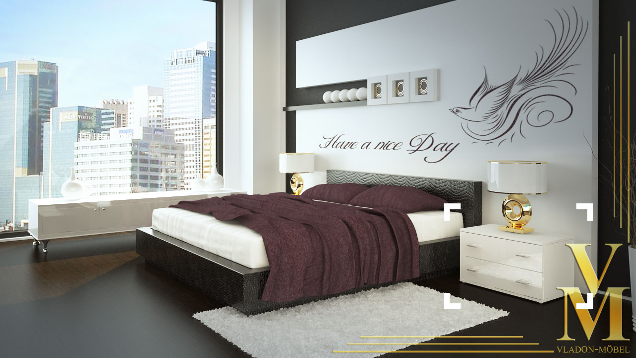 nachttisch kommode nachtkonsole kioto in wei wei hochglanz ebay. Black Bedroom Furniture Sets. Home Design Ideas