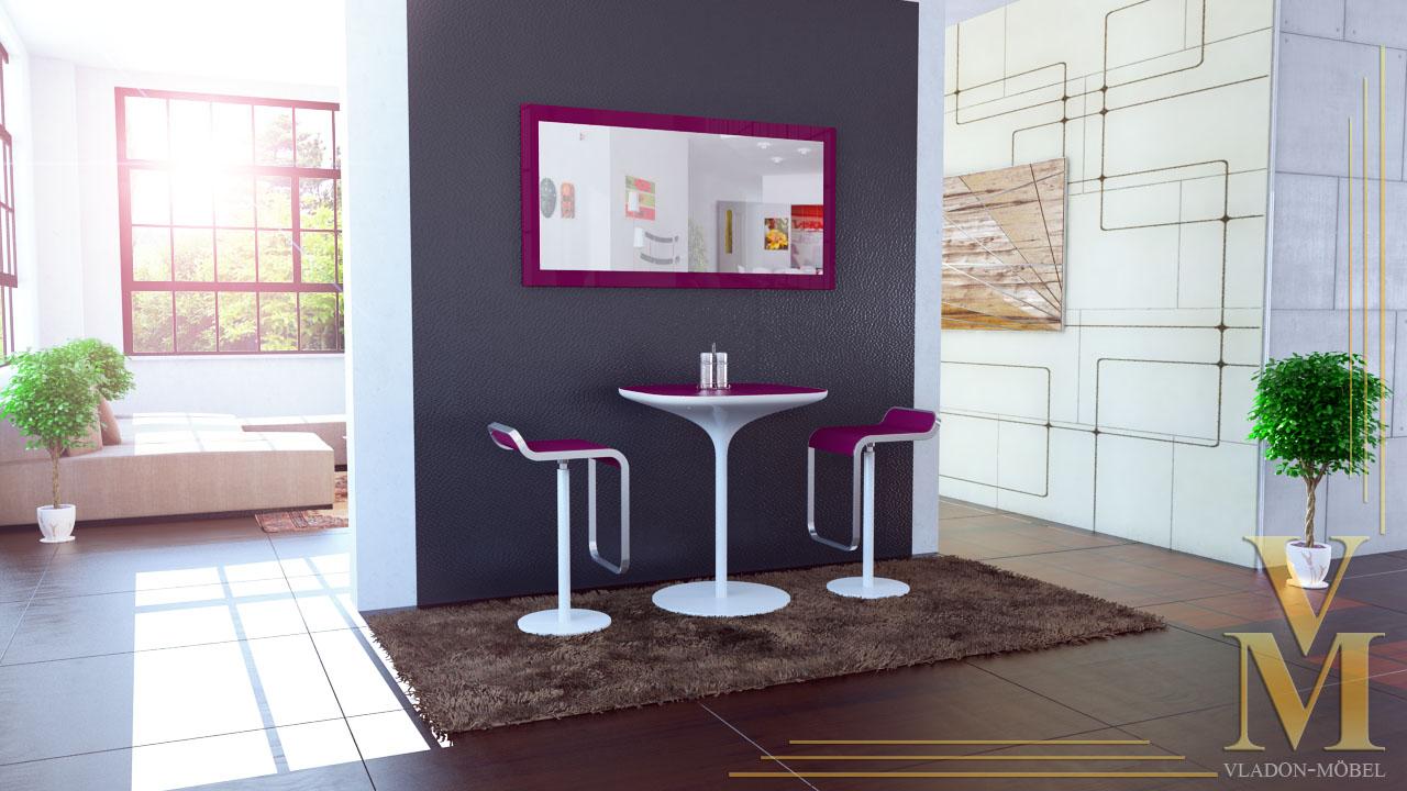 wandspiegel spiegel lima in hochglanz oder naturfarben in 4 gr en und 14 farben ebay. Black Bedroom Furniture Sets. Home Design Ideas