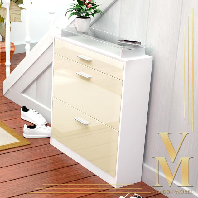 schuhschrank weiss die neuesten innenarchitekturideen. Black Bedroom Furniture Sets. Home Design Ideas