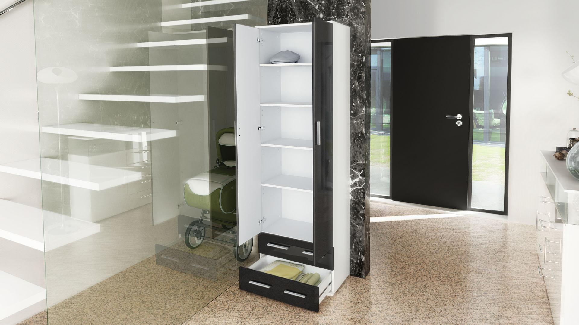 Garderobenschrank angebote auf waterige for Kipp schuhschrank weiss