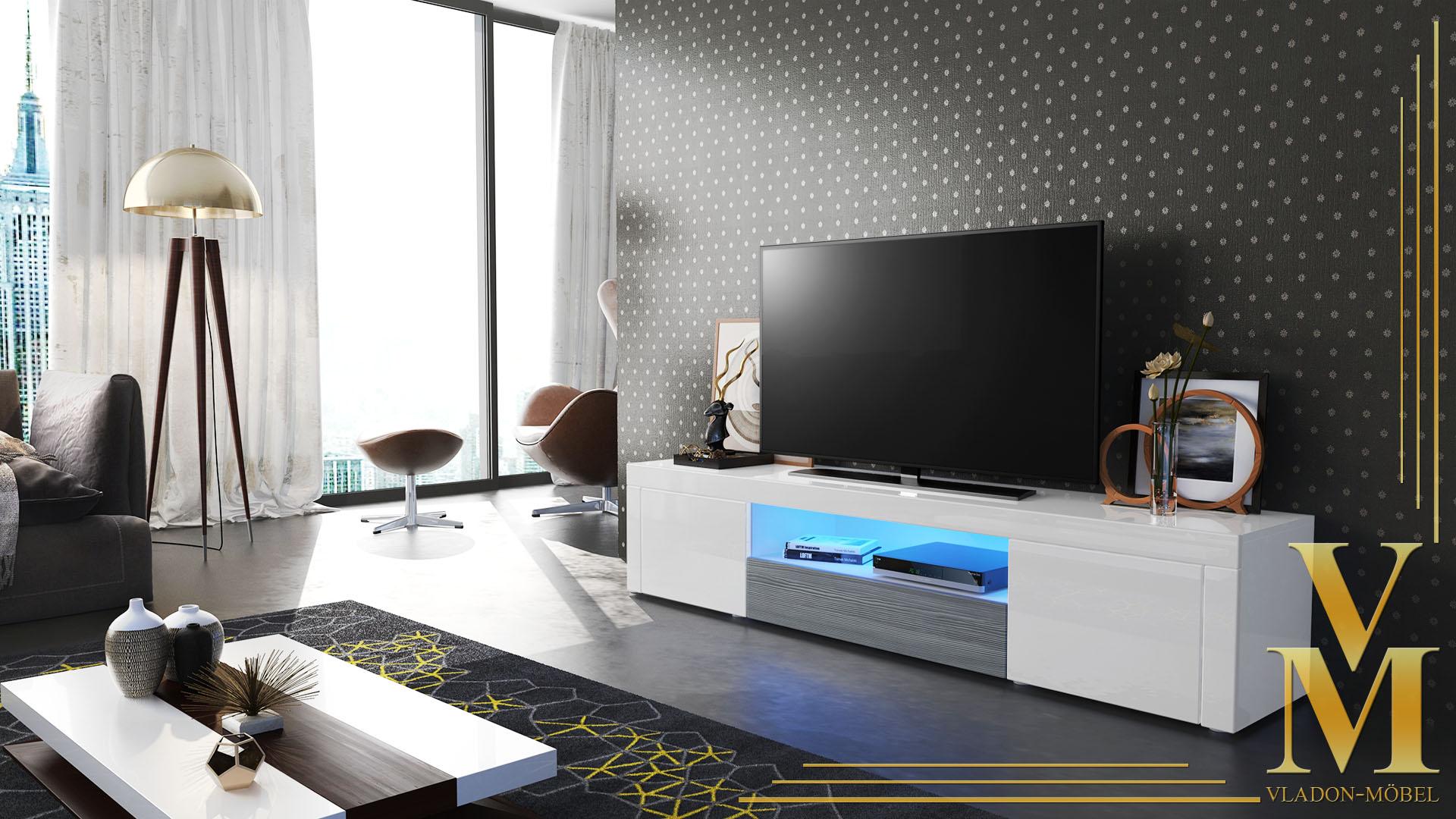 Tv Schrank Weiß Hochglanz – sehremini
