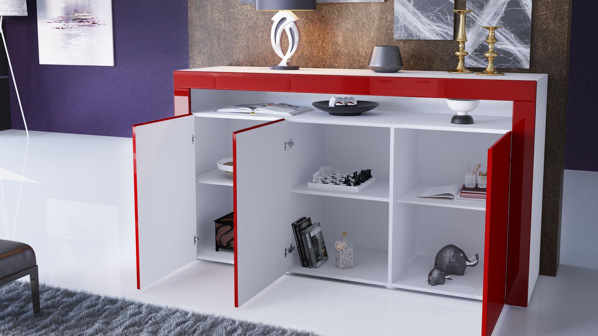Wohnzimmer Naturtone : Sideboard Kommode Anrichte Highboard Valencia ...