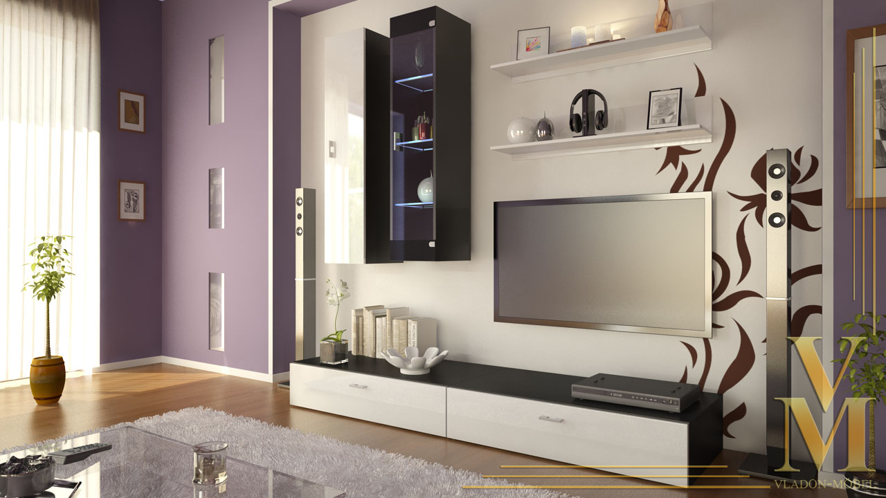 Impressive White Wall Units for Living Room 1280 x 720 · 166 kB · jpeg